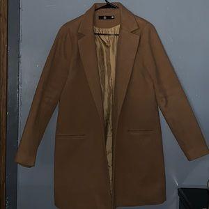 Boyfriend wooly jacket